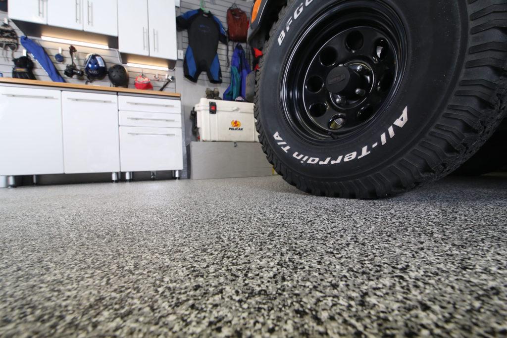 PNW garage floor
