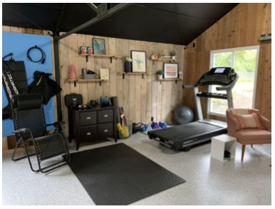 Coat your Garage Floor for a Home Gym