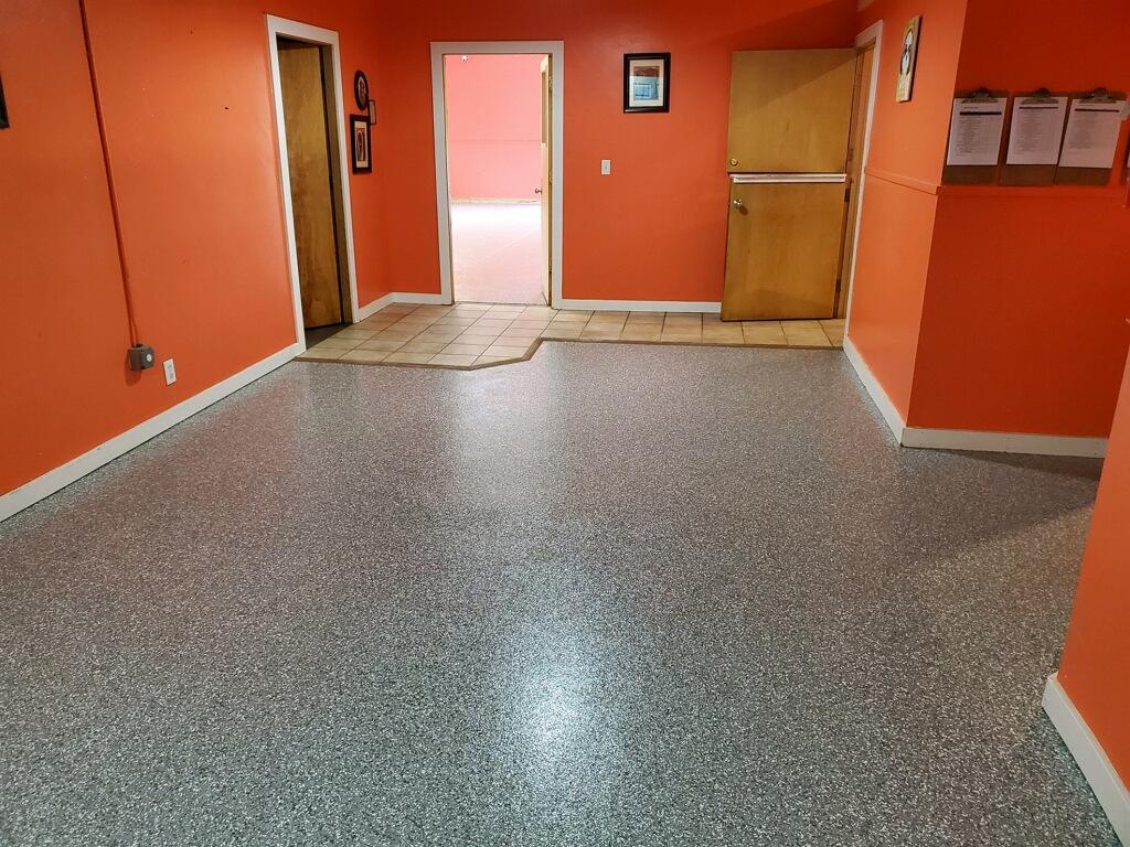 Doggie Daycare epoxy floor