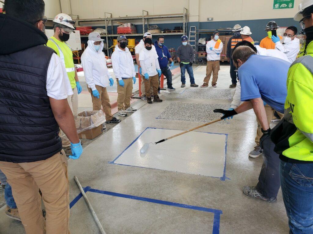 Concrete Coating Class